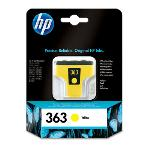 CARTUCCIA HP ORIGINALE C8773EE N° 363 YELLOW