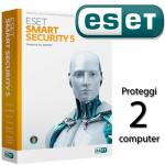 SOFTWARE ESET ANTIVIRUS SMART SECURITY 8 NOD32 RINNOVO LICENZA  PER 2PC RETAIL per Windows