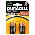 BATTERIE DURACELL PLUS POWER MINI STILO LR03 / AAA CONF. 4PZ