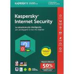 SOFTWARE INTERNET SECURITY KASPERSKY 2018 ITA 1 LICENZA PER WINDOWS.