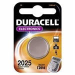 BATTERIA DURACELL PILA A BOTTONE LITIO 3V DL2025/CR2025/ECR2025