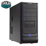 CASE COOLER MASTER ELITE 330  FULL BLACK NO ALIMENTATORE