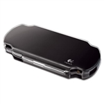COVER LOGITECH PSP PLAYGEAR POCKET SLIM CASE TRASPARENTE