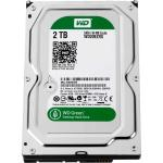 "HARD DISK WESTERN DIGITAL GREEN 3,5"" 2TB 64MB SATA-3 WD20EZRX"