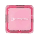 HUB USB KEYTECK 4 PORTE FULL SPEED 2.0 SQUARE PINK HUB-117PK