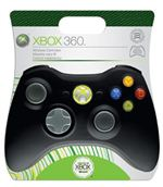 GAMEPAD XBOX 360 WIRELESS NERO