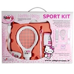 KIT X-TREME HELLO KITTY WII SPORT PACK 3 IN 1 SPORT PER NINTENDO