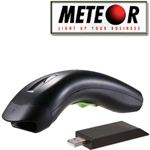 LETTORE BARCODE METEOR LION ZIGBEE LASER WIRELESS  CODICE A BARRE + RICEVITORE USB