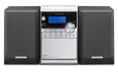 MICRO HIFI KENWOOD 20W RDS MP3 NERO + USB