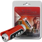 LETTORE MP3 NILOX CLIP TUBE 2GB COLORE RED