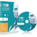 SOFTWARE ESET ANTIVIRUS INTERNET SECURITY NOD32 FULL LICENZA  PER 2PC RETAIL per Windows
